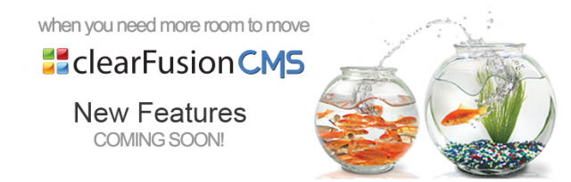clearFusionCMS & Shop Updates & Module Upgrades